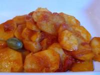 Kartoffeln mit dicken Kapernbeeren